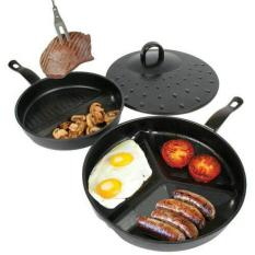 DIVIDE WONDER PAN SET AS SEEN ON TV / Divided Pan Set Murah