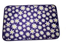 Dixon Keset Busa 40x60 Motif Campur -Purple Flowers