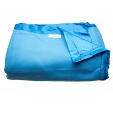 Dixon Selimut Dewasa 150x200 Satin Blue -Biru