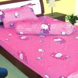 Spesifikasi Dixon Set Sprei Anak 100 Katun 120X200 Cat Pink Yang Bagus Dan Murah