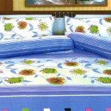 Jual Dixon Set Sprei Dewasa 100 Katun 180X200 Blue Flower Multicolor Import