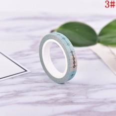 DIY 8M Timeline Washi Paper Tape Adhesive Sticky Decorative Scrapbooking Sticker N3 - intl
