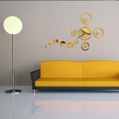 Harga Diy Lingkaran Cermin Akrilik Jam Dinding Stiker Dekorasi Rumah Internasional Yang Murah Dan Bagus