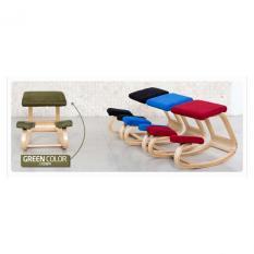 DIY Kayu Ergonomis Kursi Berlutut Balancing Body Back Pain Rumah Kantor/ONE PIECE-Intl
