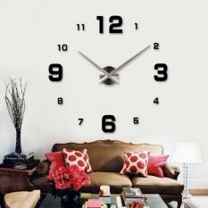 Beli Diy Giant Wall Clock 80 130Cm Diameter Elet00660 Jam Dinding Hitam Jawa Tengah