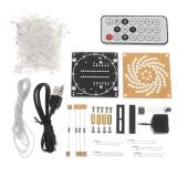 Diy Little Colorful Led Light Cube Canton Tower Suite Ir Remote Control Electronic Kit Intl Tiongkok Diskon