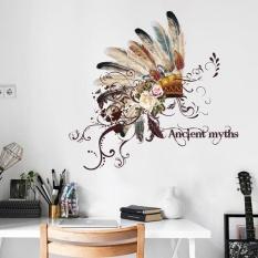 DIY Removable Emirates Hat Wall Decal Family Sticker Mural Seni Dekorasi Rumah-Internasional