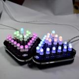 Top 10 Diy Touch Control Penuh Warna 5Mm Led Triangular Pyramid Elektronik Kit Intl Online