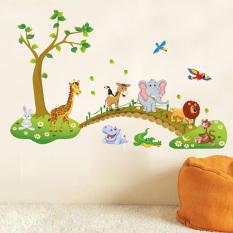 Spesifikasi Pohon Diseduh Sendiri Kartun Gajah Singa Yang Dapat Dilepas Stiker Dekorasi Rumah Stiker Dinding Wallpaper Yg Baik