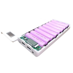 Diskon Diy Usb Mobile Power Bank Charger Case Pack 8 Pcs 18650 Baterai Holder Untuk Ponsel Intl Oem Di Tiongkok