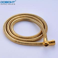 Beli Doboht Berkualitas Tinggi Ledakan Bukti Tabung 1 5 M Panjang Fleksibel Stainless Steel Kepala Pancuran Kamar Mandi Selang Air Pipa Emas Intl Yang Bagus
