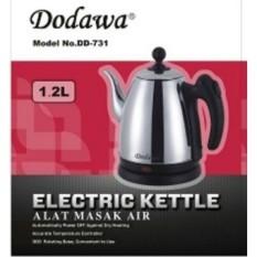 Spesifikasi Dodawa Teko Listrik Kettle Full Stainless Dan Harga
