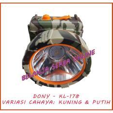 Dony KL-178 / Senter Kepala / Head Lamp