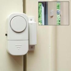 Alarm Anti Maling 7STAR - Alarm Door Window Entry - Alarm Pintu Rumah Canggih Sensor Anti Maling - Putih 1 Pcs
