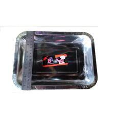 Jual Dos 4Bh Nampan Baki Tempat Masakan Stainless Steel Kotak Uk 27 Original