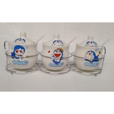 Beli Dos Rak Bumbu Keramik Set Isi 3 Doraemon Nyicil