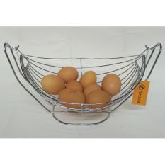 DOS Rak / Keranjang Buah atau Telur Stainless