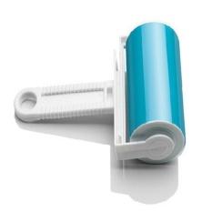 Dotec Baru Super Bubuk Lengket Bisa Dicuci Pembersih Bulu dengan Fluff Cover untuk Pet Hair Removal Powder-biru-Intl