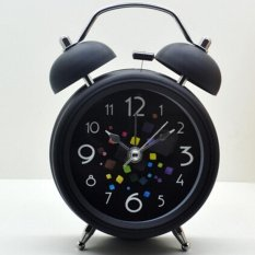 Berapa Harga Double Meja Bell Alarm Jam Hitam Di Tiongkok