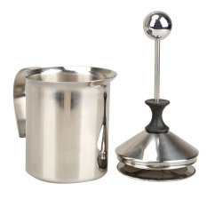 Double Mesh Milk Frother Stainless Steel Susu Creamer Alat Dapur