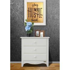 Harga Hemat Dove S Furniture Nakas Ns 001 Meja Tempat Tidur Lampu Putih
