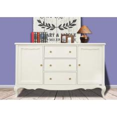 Diskon Dove S Furniture Rak Serbaguna Minimalis Rs 031 2 Pintu 3 Laci Putih Dove S