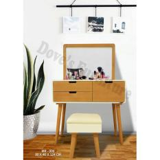 Dove's Furniture Meja Rias Minimalis MR-006 - brown