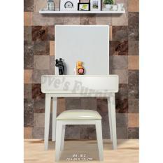 Dove's Furniture Meja Rias Minimalis MR-012 - 2 Laci - putih FREE ONGKIR Jawa + Bali