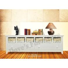 Dove S Furniture Rak Serbaguna Minimalis Rs 005 2 Drawer 6 Basket Putih Free Ongkir Jawa Bali Jawa Timur Diskon 50