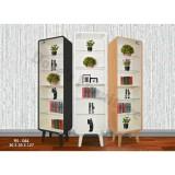 Spesifikasi Dove S Furniture Rak Serbaguna Rs 044 Rak Kaca Pajangan Rak Koleksi Putih Lengkap