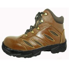 Dozzer Safety Shoes DR214X6-CM - Coklat