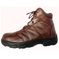 Harga Dozzer Safety Shoes Dr214X6 Ct Cokelat Tua Jawa Timur