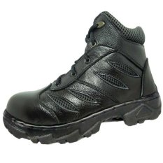 Beli Dozzer Safety Shoes Dr214X6 Ht Hitam Kredit