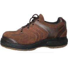 Dozzer Safety Shoes P104 - Coklat Tua
