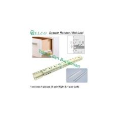 Drawer Runner/Rel Laci Elco 45cm