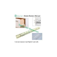 Drawer Runner/Rel Laci Elco 50cm