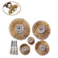 Beli Dremel Aksesoris Untuk Rotary Tools Wire Brush Power Polishing Kepala Rambut Penggilingan Kasar Brush Untuk Mini Bor Alat Dremel Intl Di Tiongkok
