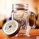 Jual Drinking Jar Import Mug Manson Gelas Kaca Harvest 450Ml Gelas