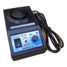 DSC Ultrasonic Alat Pengusir Tikus Kecoa Serangga - Hitam
