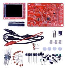 Dso138 2.4 Inch TFT Digital Oscilloscope Dilas/Bagian DIY Kit/Acrylic Case Merah &