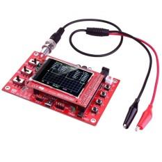 Cara Beli Dso138 2 4 Inch Tft Digital Oscilloscope Dilas Bagian Diy Kit Acrylic Case Merah Hitam Intl