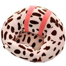 DSstyles Soft Comfortable Baby Support Seat Sofa Creative Learn Sit Soft Chair Cushion Sofa Plush Pillow Toys Keep Sitting Posture for Baby Style:Leopard