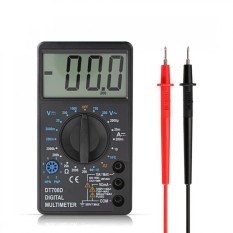 DT700D LCD Digital Multimeter Diode Freguency Multitester-Intl