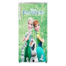 dua putra sticker kulkas motif frozen 1 pintu