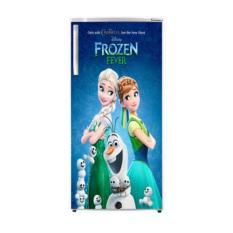 dua putra Variasi sticker kulkas motif frozen 1 pintu