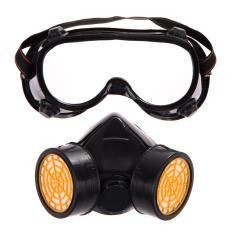 Gas Ganda Menggunakan Filter Anti Debu Masker Kacamata Keselamatan Industri Melukis Alat Pernafasan By Crystalawaking.
