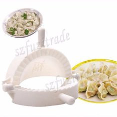 Dumpling Perangkat Pie Pembuat Kue Cetakan Alat Adonan Tekan DIY Daging Samosa Empanada (Putih)-Intl
