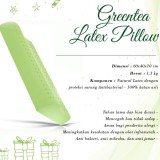 Jual Dunlopillo Ergo Greentea Latex Pillow Termurah