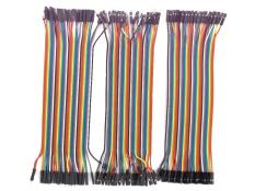 Jual Dupont Line 120 Pcs 20 Cm Male To Male Pria For Wanita Dan Wanita Sampai Wanita Jumper Kawat Dupont Kabel Di Tiongkok