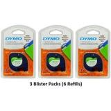 Review Tentang Dymo 10697 Self Adhesive White Paper Labeling Tape Untuk Letratag Lt Pembuat Label 3 Kemasan Blister 6 Isi Ulang Masing Masing Dengan Dua 1 2 Lebar X 13Ft Panjang 12Mm X 4 M Refill Rolls Intl